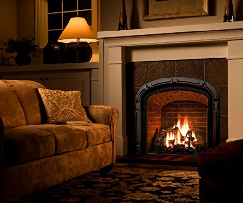 Natural Glo Large Gas Fireplace Logs 10 Piece Set Of